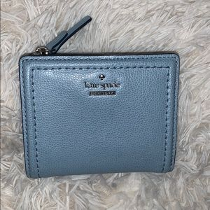 light blue kate spade wallet